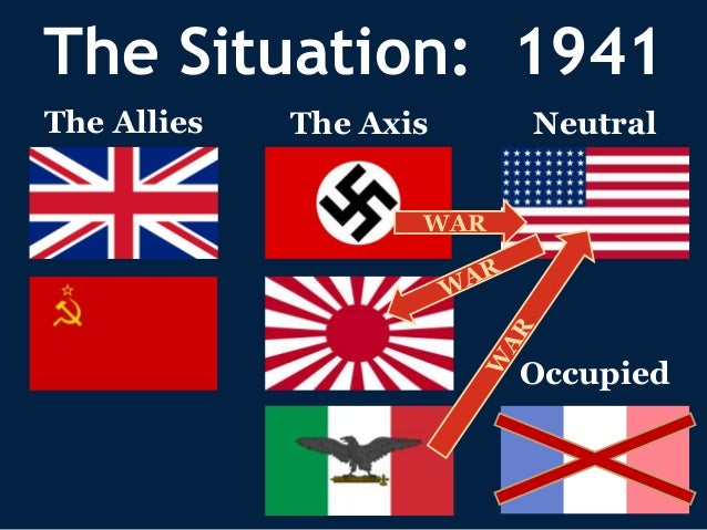 an analysis of the actions by alliance leaders during the world war two Mexico - forgotten world war ii ally  a continual alliance was not a smooth one  1942 mexico declared war against the axis now the leaders of the .