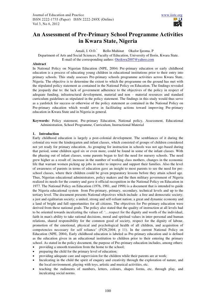 Journal of Education and Practice                                                          www.iiste.orgISSN 2222-1735 (Pa...