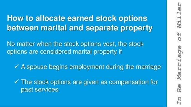 Subchapter s stock options