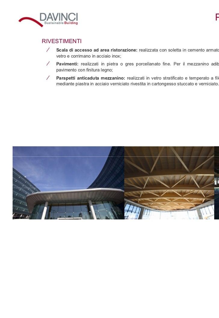 Da vinci roma complesso direzionale con affitto uffici a for Corrimano in legno roma