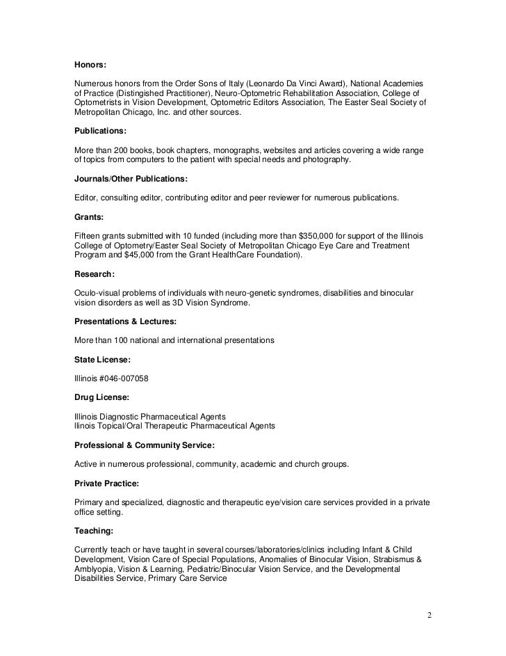 cv  resume for dr  dominick maino