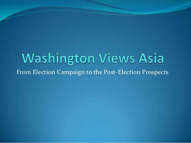 From Election Campaign to the Post-Election Prospects