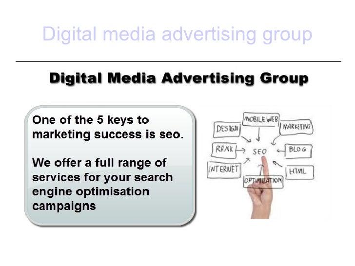 Digital media advertising group