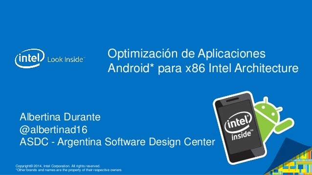 Copyright© 2014, Intel Corporation. All rights reserved. *Other brands and names are the property of their respective owne...