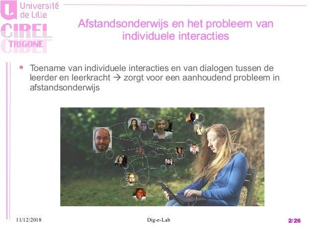 Digital Learning Manager case: het vormen van een community en een leergemeenschap in afstandsonderwijs Slide 2