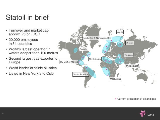 Implementing Statoil's Ambition to Action management model Slide 2