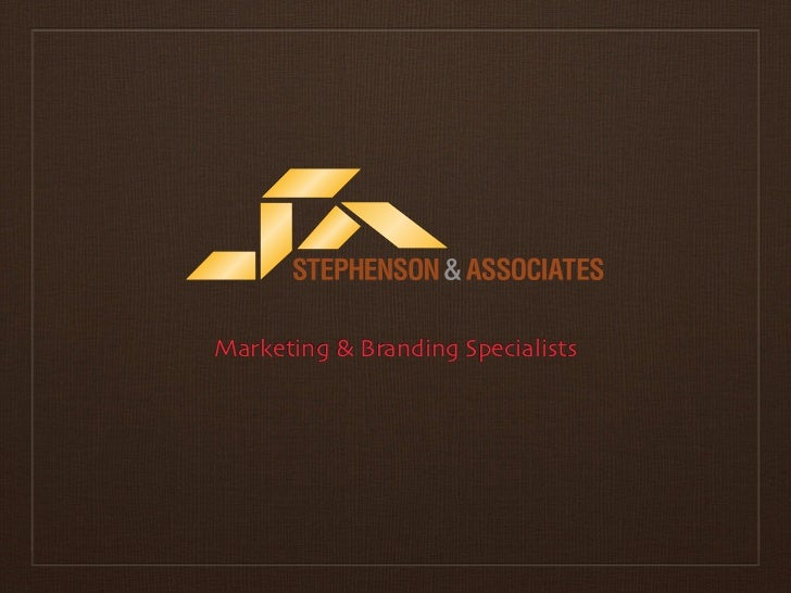 Marketing & Branding Specialists