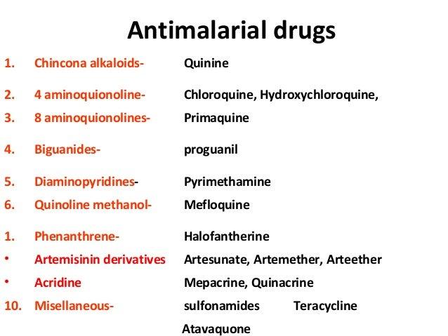 Aralen Dosage Malaria Prevention