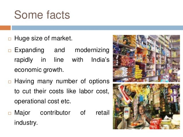 unorganised retail in india
