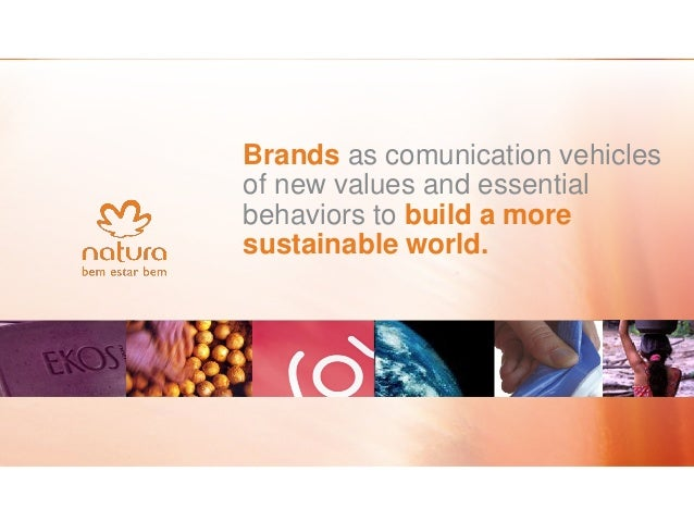 NATURA PROFILE  Business model direct sales  Consultants 1.5 million  Market Share (Brazil) 23,2%  Consumers 100 million  ...