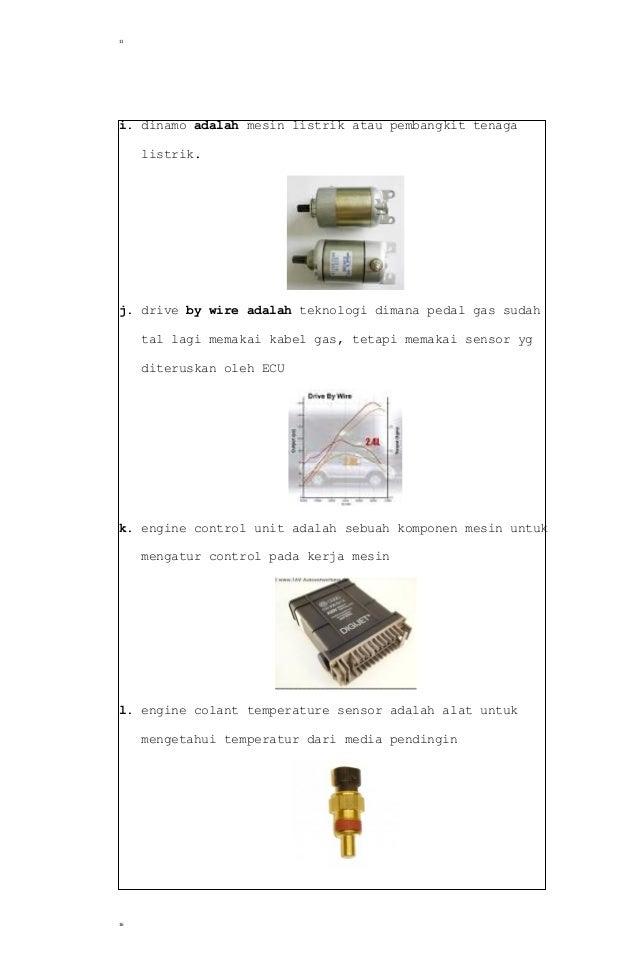 Soal dan jawaban No 11™ Tugas Pendahuluan Motor Bensin