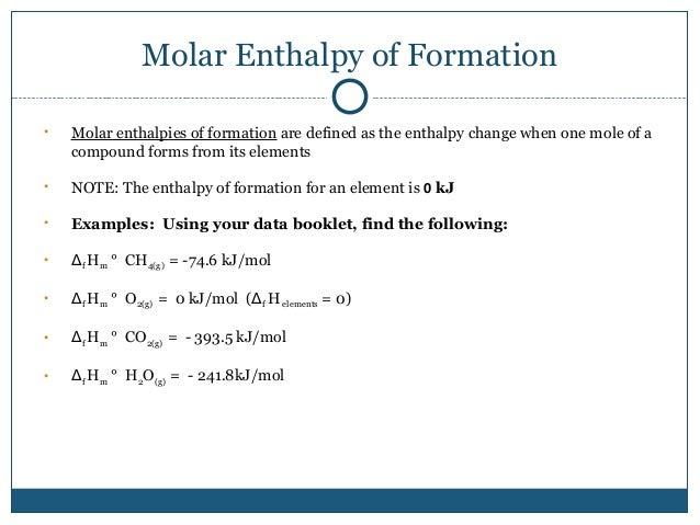 chemistry-enthalpy power point