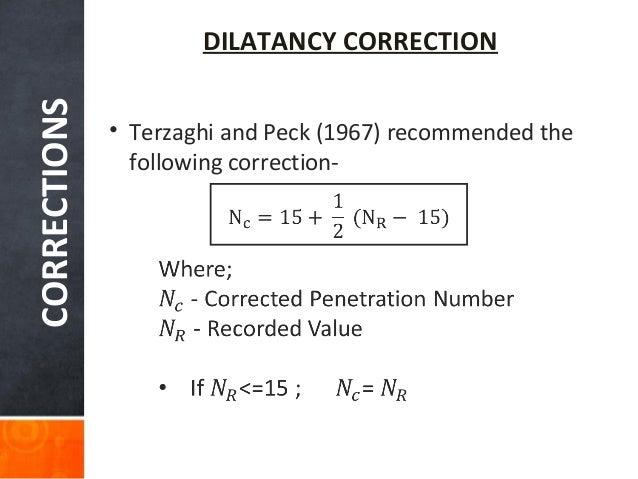 N penetration standard test value