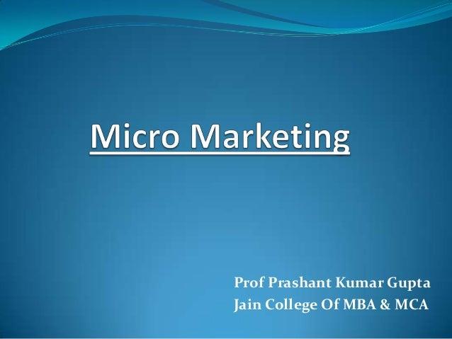 Prof Prashant Kumar Gupta Jain College Of MBA & MCA