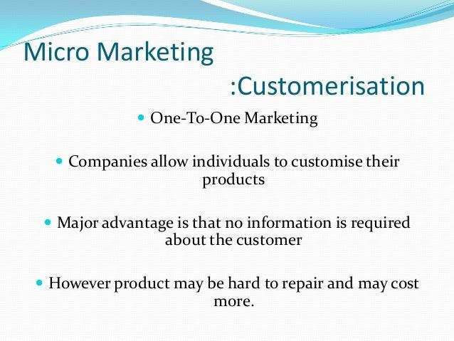 Micro marketing | College paper Example - einsteinisdead com