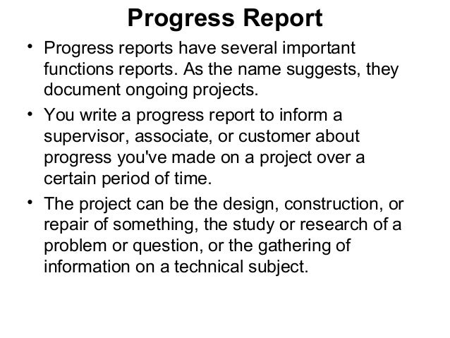 How to write a technical report sample