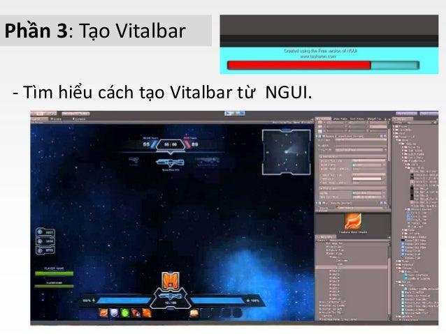 Giới thiệu môn học ứng dụng NGUI cho unity3D