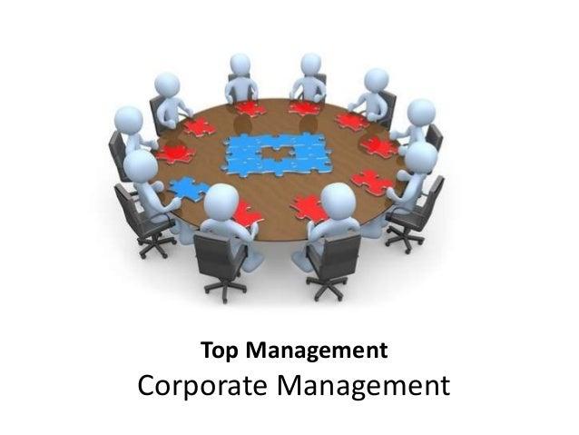 Top Management S01 E06: Corporate Management