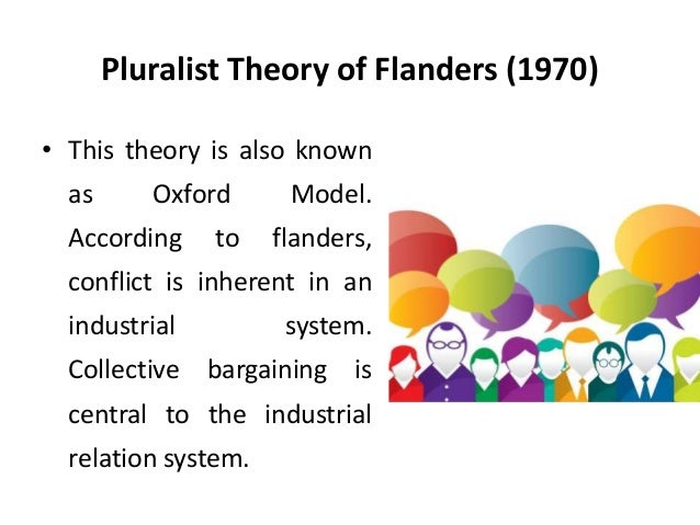 what is the pluralist theory