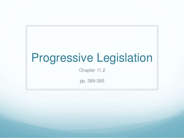 What Were the Four Goals of the Progressive Movement?