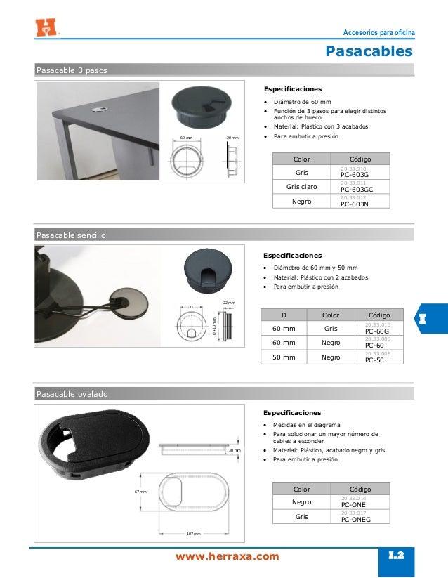 Secci n i accesorios para oficina for Accesorios de oficina