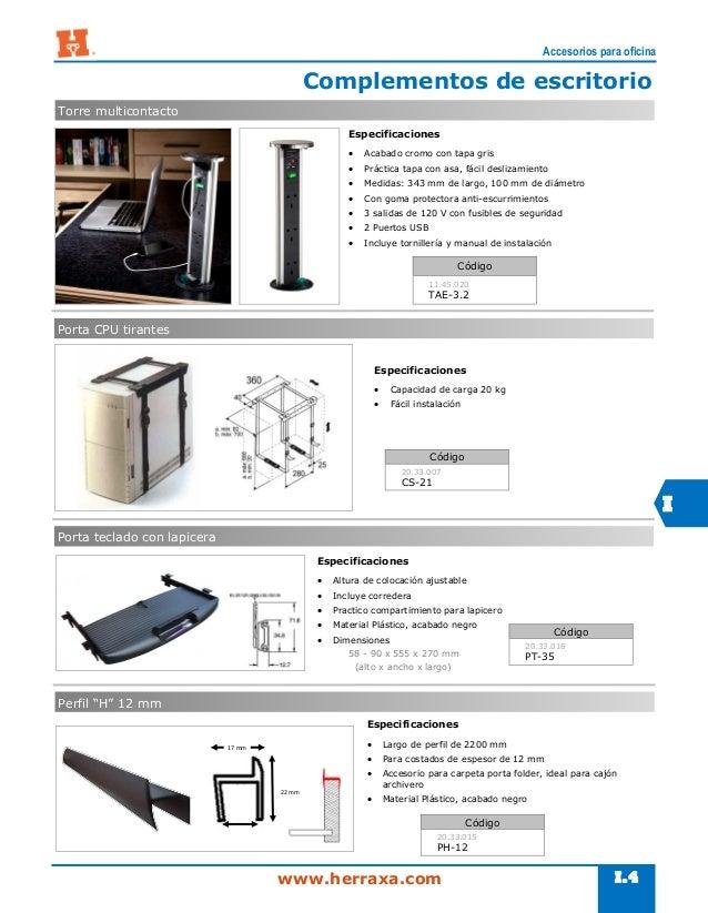 Secci n i accesorios para oficina for Accesorios para oficina