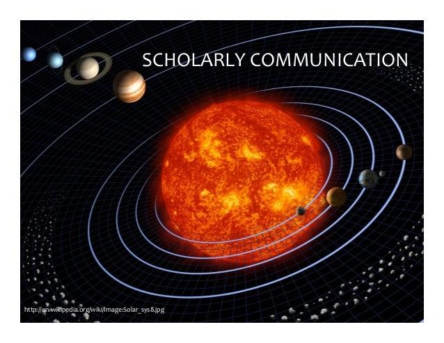 http://en.wikipedia.org/wiki/Image:Solar_sys8.jpg SCHOLARLYCOMMUNICATION