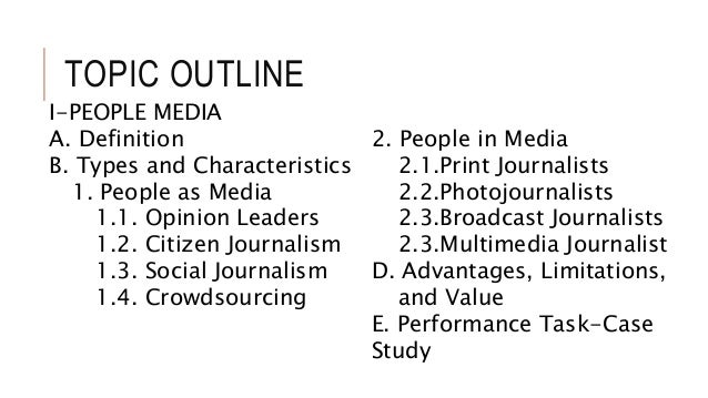 an analysis of the characteristics and benefits of journalism In the view of journalismfundeu there is no final definition of investigative journalism on the contrary – it should be a vivid process to strive for investigative journalism and any.