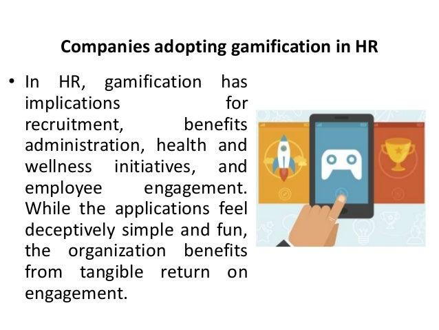 Companies adopting gamification in HR - Manu Melwin Joy Slide 3