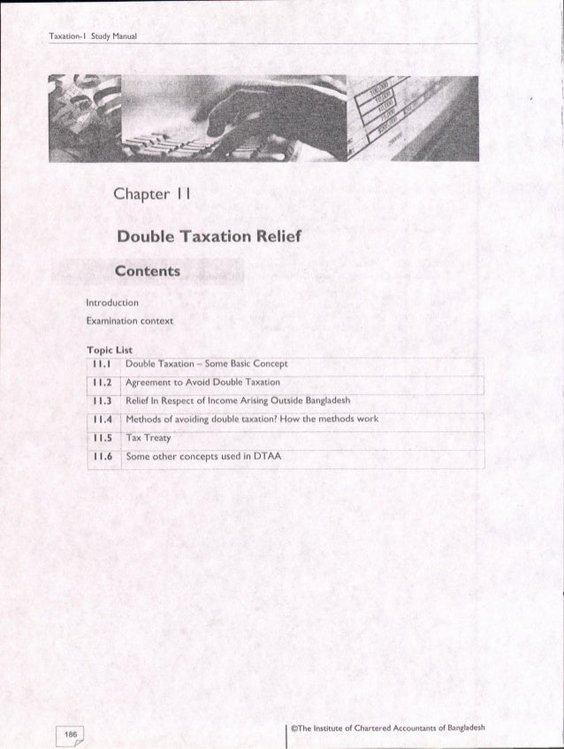 11 Double Taxation Relief Icab Kl Study Manual