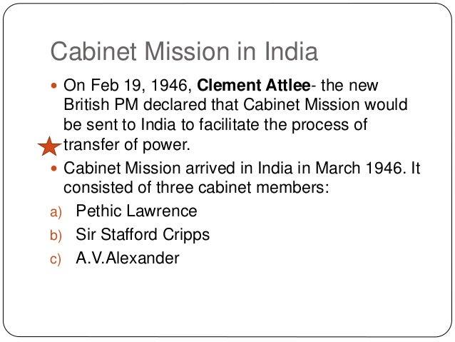 british cabinet mission