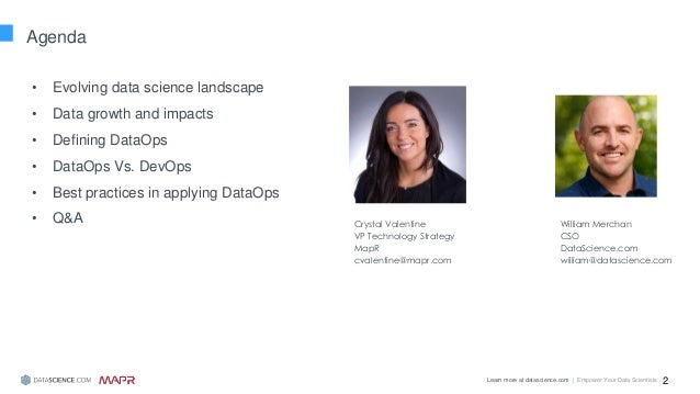 Best Practices: Implementing DataOps with a Data Science Platform Slide 2