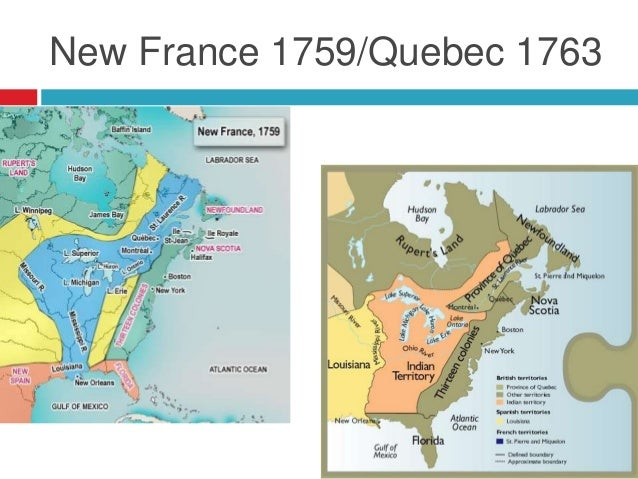 1763 Revolutionary Gateway Year for Canada and the US