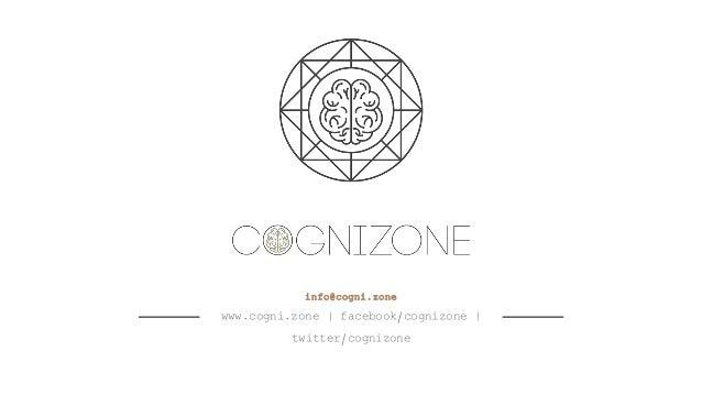 info@cogni.zone www.cogni.zone | facebook/cognizone | twitter/cognizone