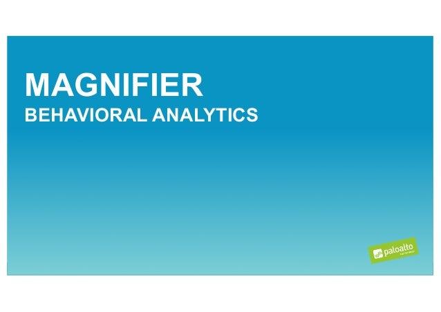 Palo Alto Networks - Magnifier