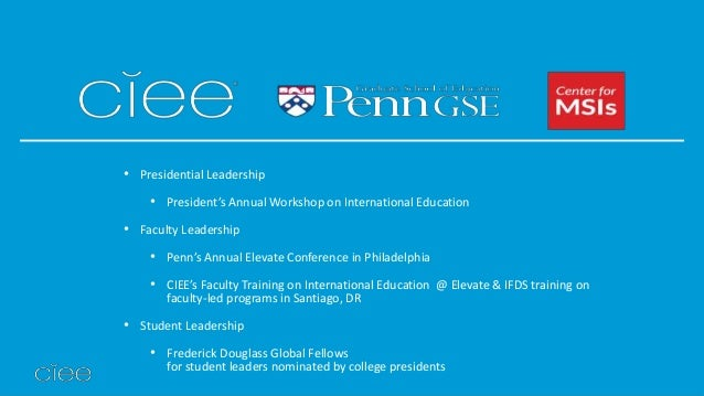 CIEE: Council on International Educational Exchange Names ...