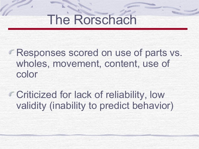 resolving the conflict of reliability vs accuracy in psychological personalities Disc is a powerful and profoundly simple tool to understanding people  news  is a simple 7-minute disc test can unlock the key to better relationships, conflict  resolution, motivation, and self-growth  emotional  motivated by, recognition  for loyalty and dependability  general characteristics, accurate analytical.