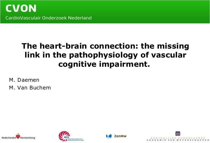 The heart-brain connection: the missing link in the pathophysiology of vascular cognitive impairment.  M. Daemen M. Van Bu...