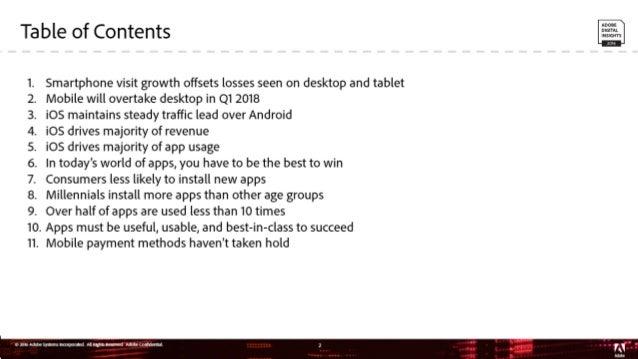 2016 Mobile Benchmark Report Slide 2