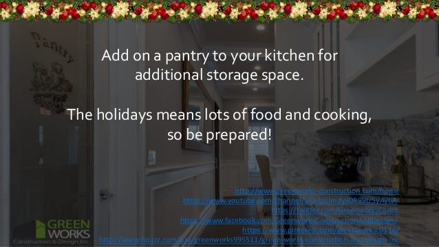 Interior Remodeling Ideas For The Winter Holidays