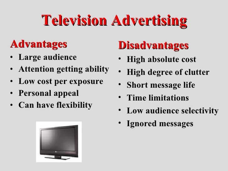 essay advantages of tv Essay on television there are a lot of advantages making television we love your television essay and we would like you to write to us the smiths at.