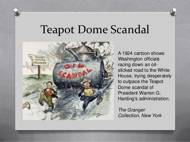 the teapot dome scandal The hardcover of the teapot dome scandal: a headline court case by jonathan l thorndike at barnes & noble free shipping on $25 or more.
