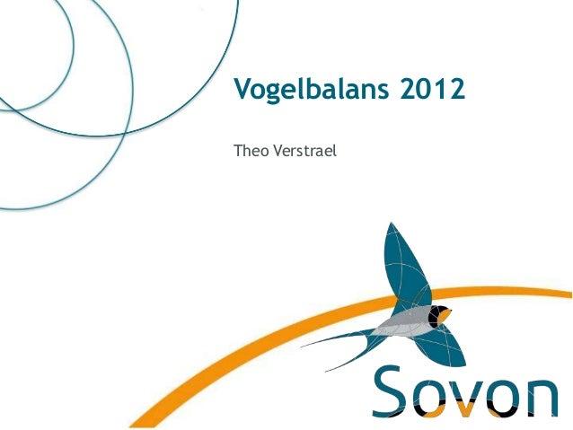 Vogelbalans 2012Theo Verstrael