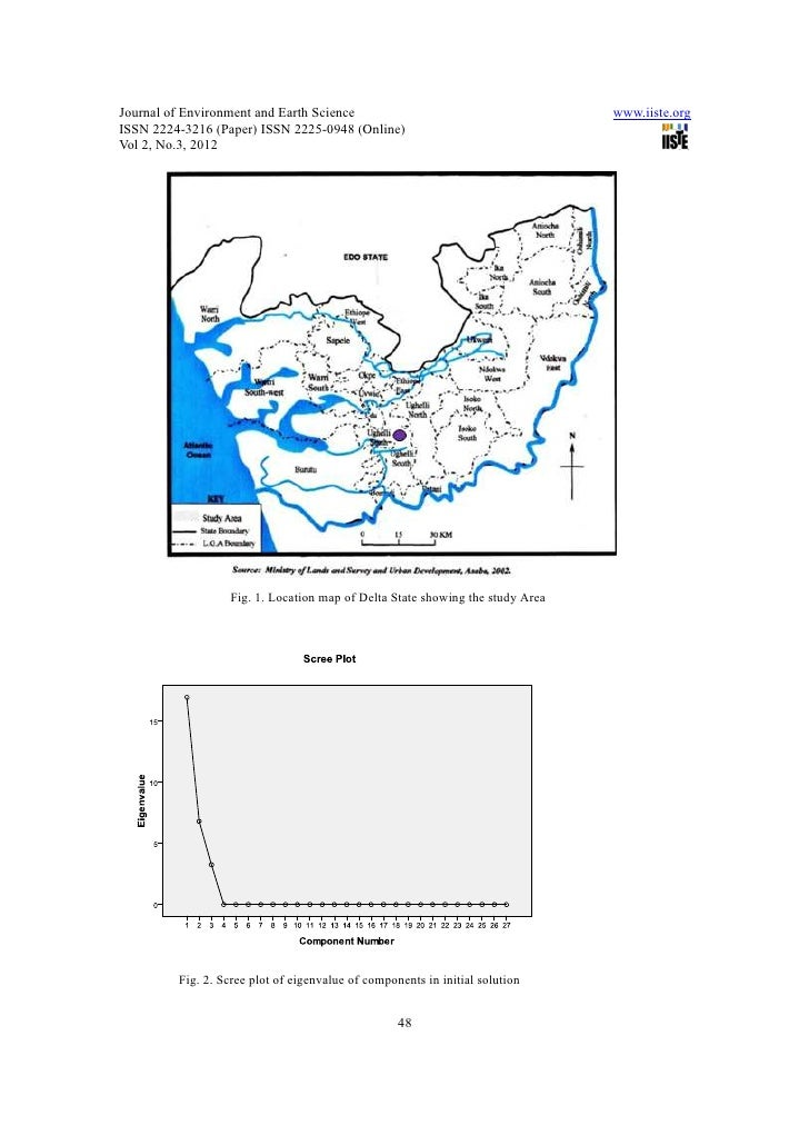 1140 51correlates in groundwater quality parameters and textural c