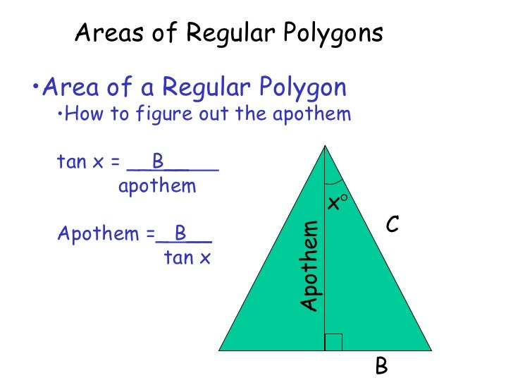 11 4 Areas Of Regular Polygons – Areas of Regular Polygons Worksheet
