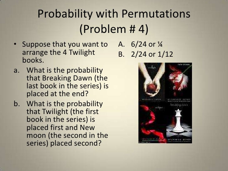 11 5 Probability With Fundamental Counting Principles