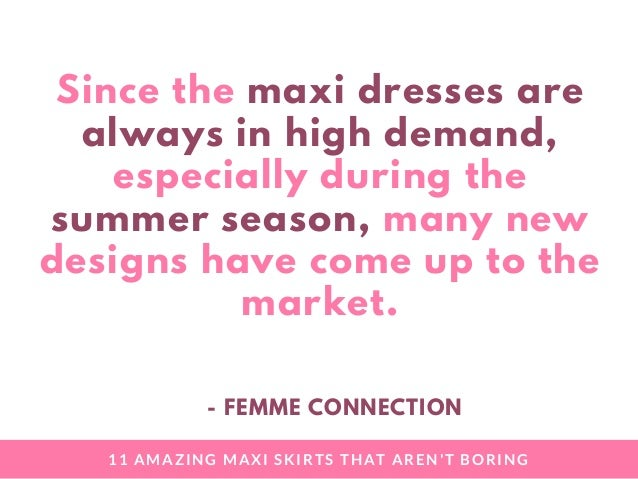 11 Amazing Maxi Skirts That Are Not Boring (FemmeConnection) Slide 3