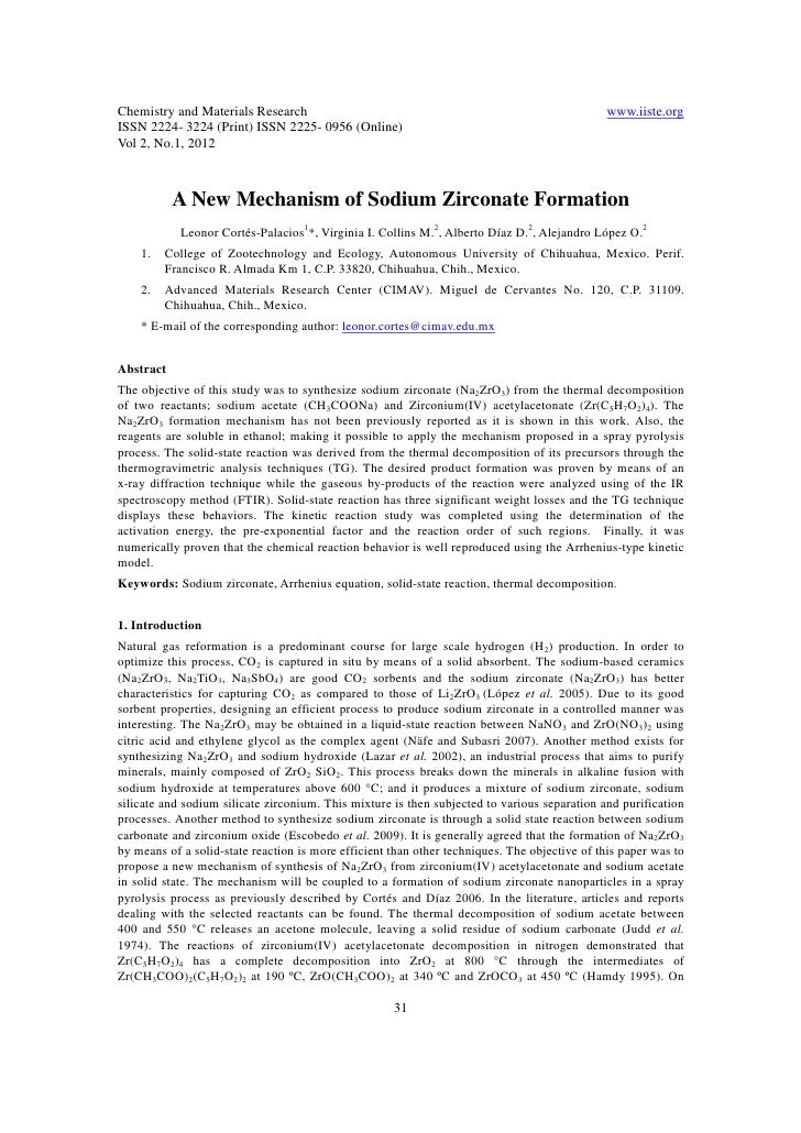 Chemistry and Materials Research                                                              www.iiste.orgISSN 2224- 3224...