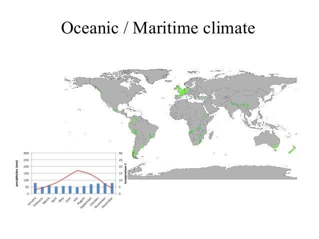 Climate zones Basic vocabulary