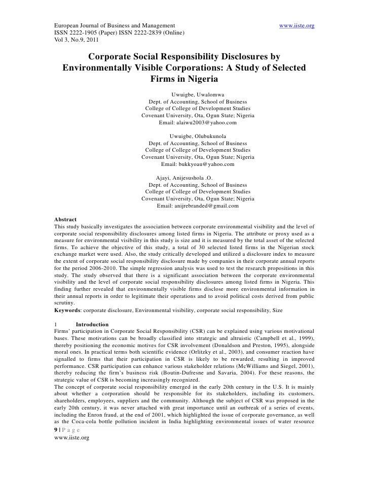 European Journal of Business and Management                                                     www.iiste.orgISSN 2222-190...
